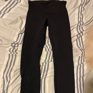 lululemon black wunder under